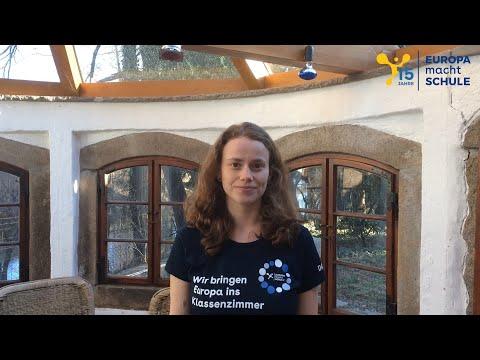 Erfahre hier, warum sich Anna ehrenamtlich im EmS-Standort-Team Regensburg engagiert und was sie mit der europäischen Idee verbindet