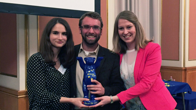 EmS-Standort Berlin erhält Berliner Europapreis.