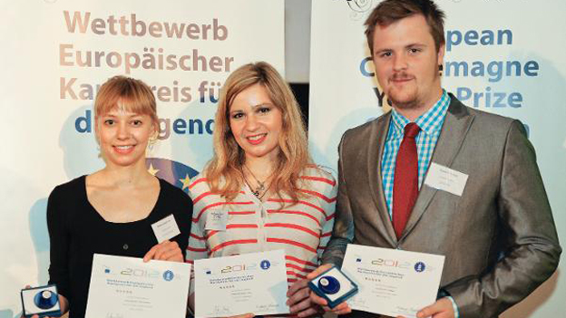 Die Gewinner des Jugendkarlspreises 2012
