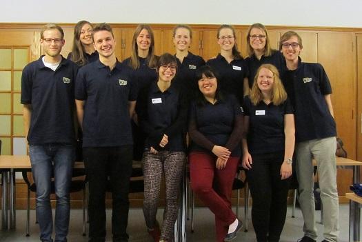 """Das """"Europa macht Schule""""-Team des Standortes Bonn"""