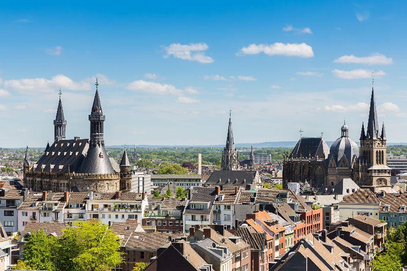 Blick über Aachen