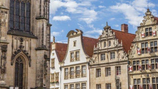 Häuser in Münster