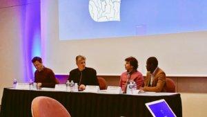 Panelteilnehmer beim Netzwerktreffen zu Role-Model-initiativen