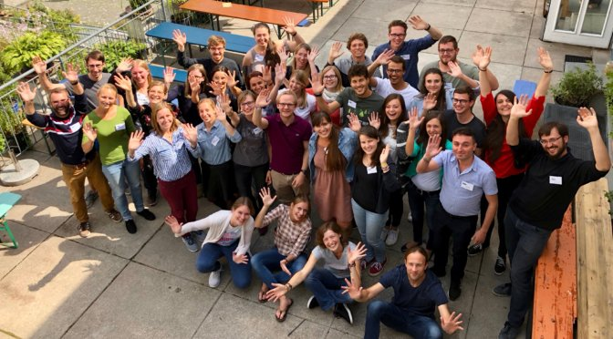 Teilnehmerinnen und Teilnehmer des EmS-Jahrestreffens 2018