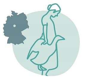 Illustrierung der Stadt Göttingen