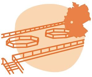 Illustrierung der Stadt Gießen