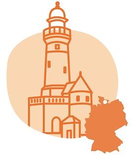 Illustrierung der Stadt Kiel