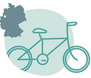 Illustrierung der Stadt Münster