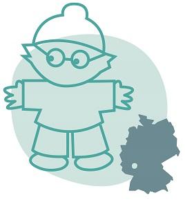 Illustrierung der Stadt Mainz
