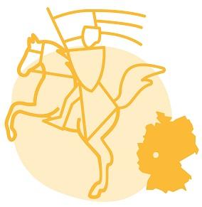 Illustrierung der Stadt Marburg