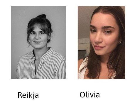 Porträtfotos von Reikja und Olivia.