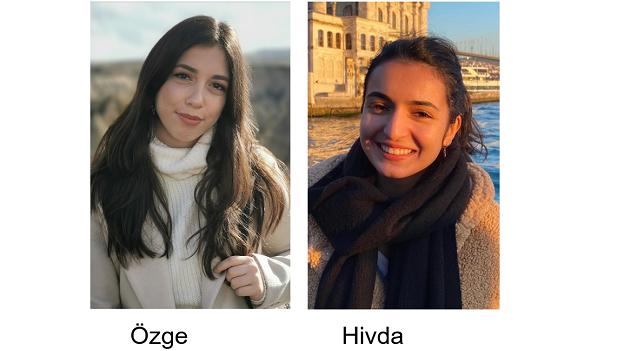 Porträtfotos von Özge und Hivda