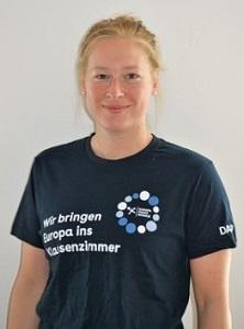 Portraitfoto von Heike Stamereilers, eine Ehrenamtliche von